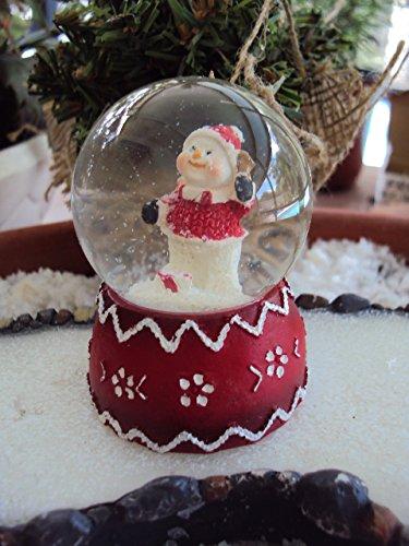 "Miniature ""Santa Snowman Snow Globe"" Assorted"