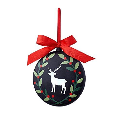 Sage & Co. XAO20018BK Chalkboard Standing Deer Ornament (12 Pack)