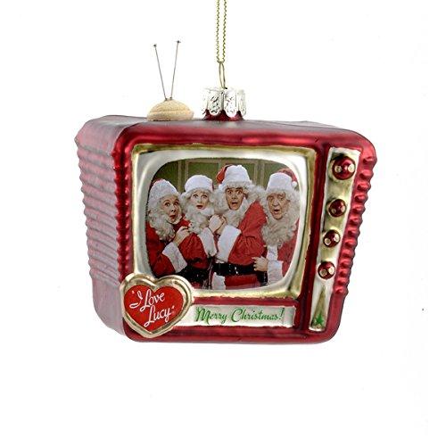 Kurt Adler Glass I Love Lucy TV Ornament