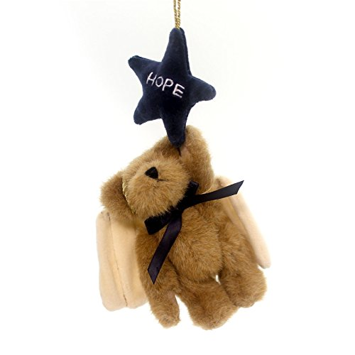 Boyds Bears Plush H. B. STARCATCHER ORNAMENT Teddy Bear Angel Star Hope 562407