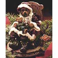 Kris Kingle with Joey … Santa's Secret Musical Figurine