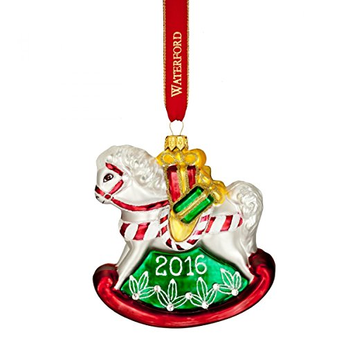 Waterford 2016 Holiday Heirloom Nostalgic Collection Baby's First Rocking Horse Ornament