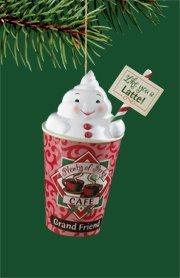 "Carlton Heirloom ""A Cup Of Friendship"" Christmas Ornament"