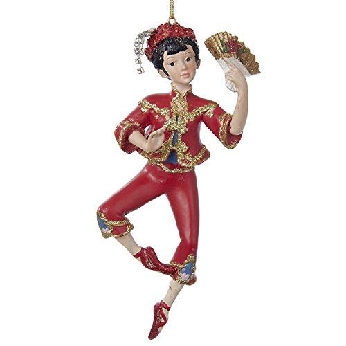 Kurt Adler Resin Chinese Dancer Ornament