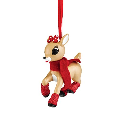 Department 56 Rudolph From Clarice Ornament 3 In