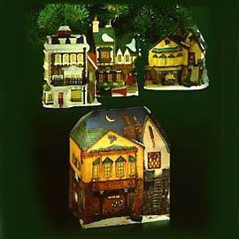 "Department 56 ""The Pied Bull Inn"" Porcelain Collectors Ornament"