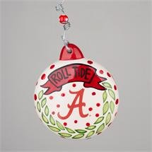 Glory Haus Christmas Puff Ornament (Alabama Roll Tide)