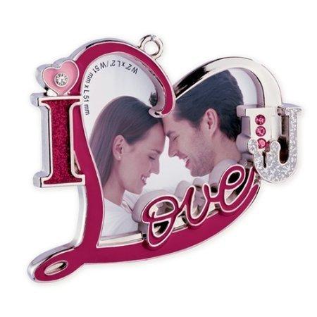 Carlton Heirloom Ornament 2013 Our Christmas Together – I Love U Photo Holder – #CXOR011D