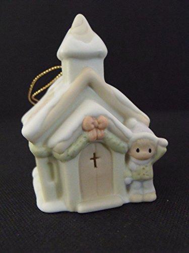 Precious Moments Ornament – Sugar Town Chapel #530484