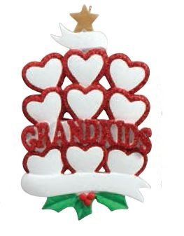 Nine Grandkids Ornament