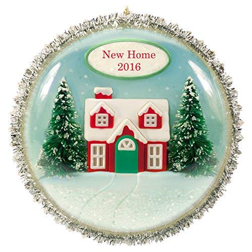 New Home Christmas Ornament Dated 2016  Hallmark Keepsake Ornament