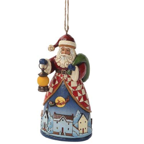 Jim Shore – Santa Ornament – Santa Over Village