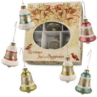 Mercury Glass BELLS Christmas Ornaments Bethany Lowe