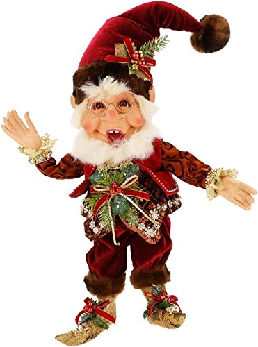 Mark Roberts Elves, Snow Pine Elf, Medium 18 Inches Packaged with an Official Mark Robert Gift Bag