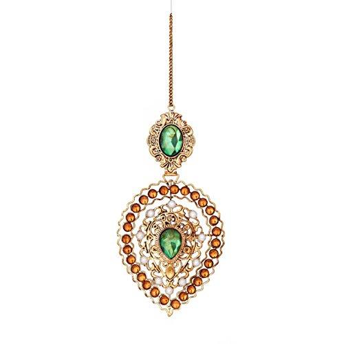 Sage & Co. XAO20204MU Rhinestone Dangle Ornament (6 Pack)