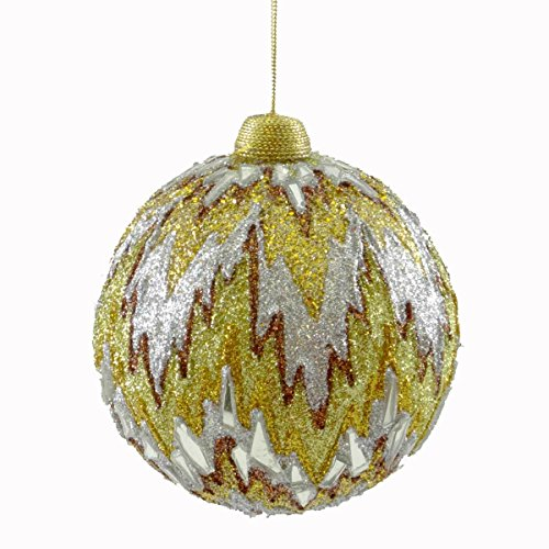 Holiday Ornament FLAME STITCH ORNAMENT Christmas Jim Marvin B02450347