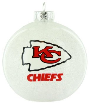 Kansas City Chiefs Color Changing LED Ball Ornament