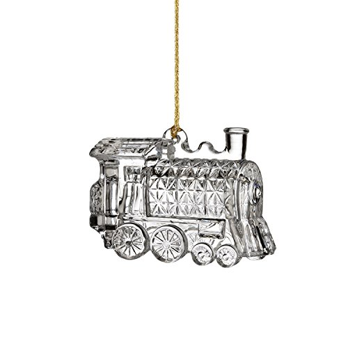Marquis By Waterford Train Bell Ornament 4in
