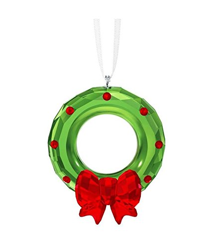 Swarovski Christmas Wreath Ornament