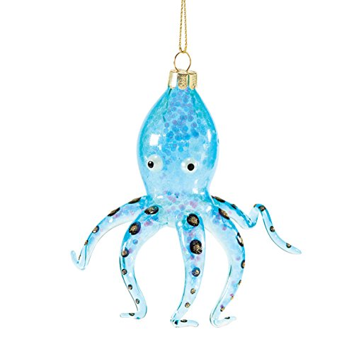 Department 56 Coastal by Octopus Ornament 4.75 In
