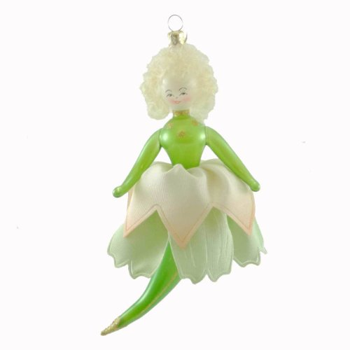 De Carlini PRETTY PETALS Italian Christmas Ornament Tinkerbell Pixie DC000007