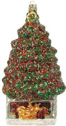 Rockefeller Center New York City Christmas Tree Polish Glass Ornament Decoration
