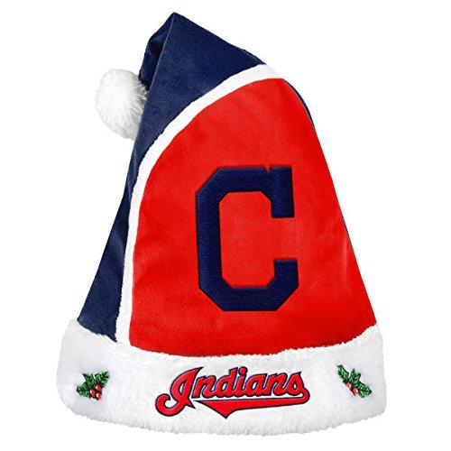 Forever Collectibles – MLB 2015 Santa Hat, Cleveland Indians