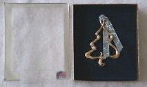 Gloria Duchin Gold Colored Metal Tree Ornament