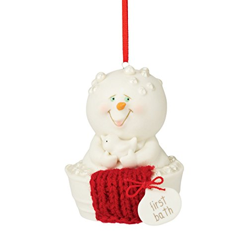 Department 56 Snowpinions From First Bath Ornament 2.76 In