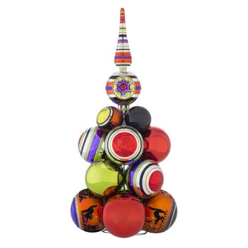 Christopher Radko Halloween Cluster Table Top Tree Decoration