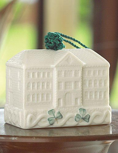 Belleek Pottery Bell Ornament