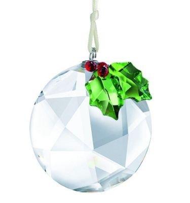 Swarovski Holly Window Ornament