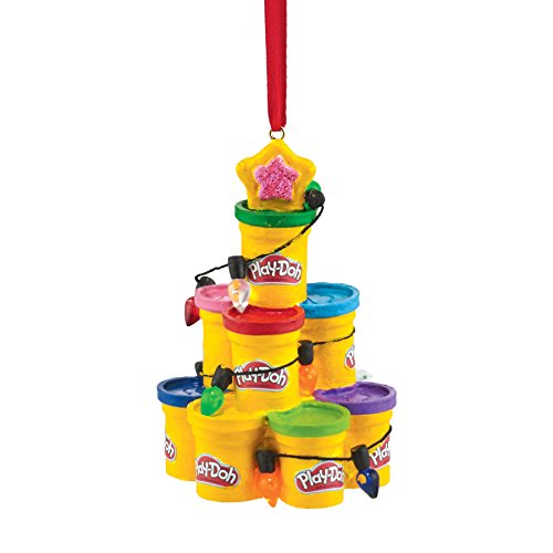 Department 56 Hasbro Play-Doh Tree Ornament, 3.5″