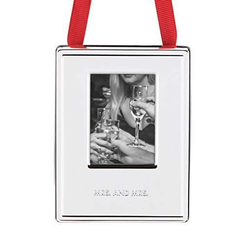 Kate Spade New York 2016 Darling Point Picture Frame, Mrs. and Mrs.