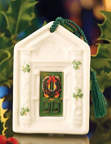 Belleek Dublin Door, Green, 3.5″