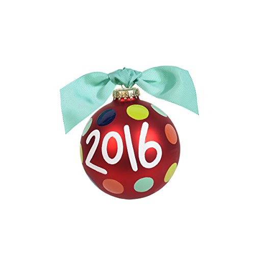 Coton Colors 2016 Glass Ornament