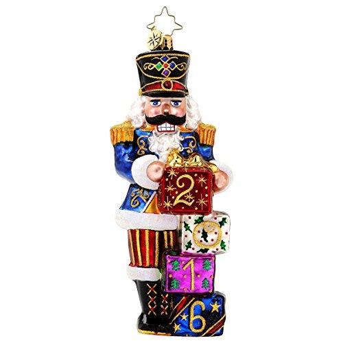 Christopher Radko 2016 Awaiting the Year Nutcracker Christmas Ornament – 5.5″H.