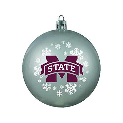 NCAA Mississippi State Bulldogs Shatterproof Ball Ornament
