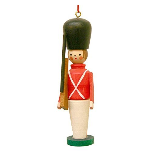 "10-0064 – Christian Ulbricht Ornament – Toy Soldier – 3.5″""H x 1″""W x .75″""D by Christian Ulbricht"