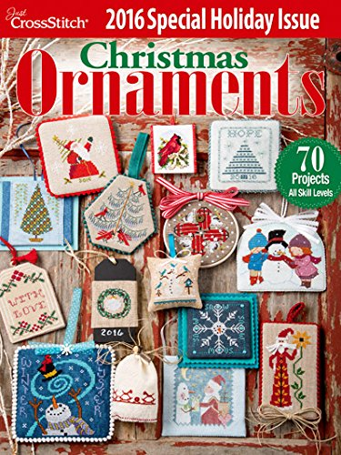 Just Cross Stitch Christmas Ornaments 2016 Special Issue