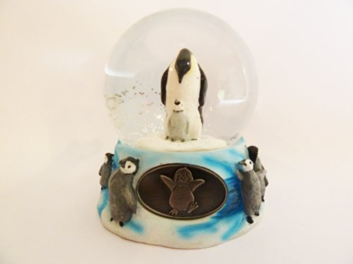 Penguins Snow Globe – 65mm