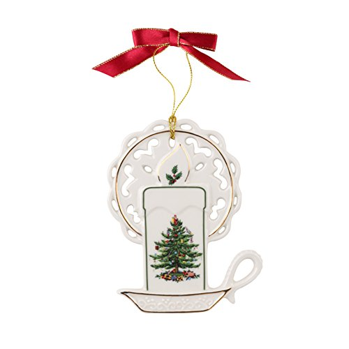 Spode Christmas Tree Ornament, Candle