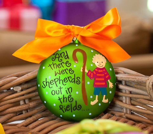 Shepherds Out in the Field Ornament by Coton Colors