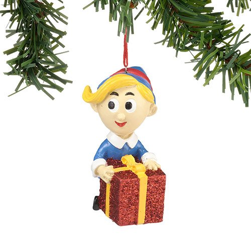 "Department 56 ""Hermey With Gift Ornament"" #4026640"