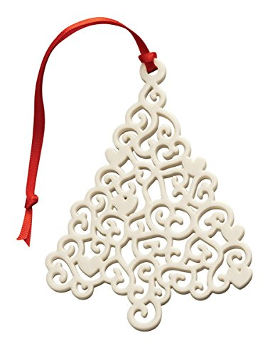Belleek Pottery Lace Christmas Tree