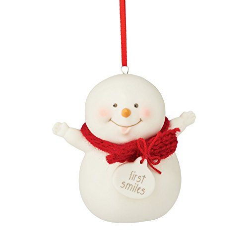 Department 56 Snowpinions From First Smile Ornament 2.76 In