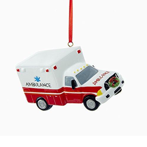 Kurt Adler 4″ Ambulance Ornament