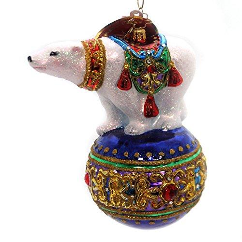 Christopher Radko Bejeweled Balancer Animal Christmas Ornament
