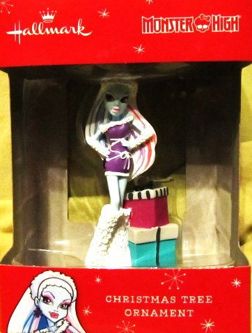 Hallmark 2015 Monster High Abbey Bominable Daughter of the Yeti Christmas Tree Ornament