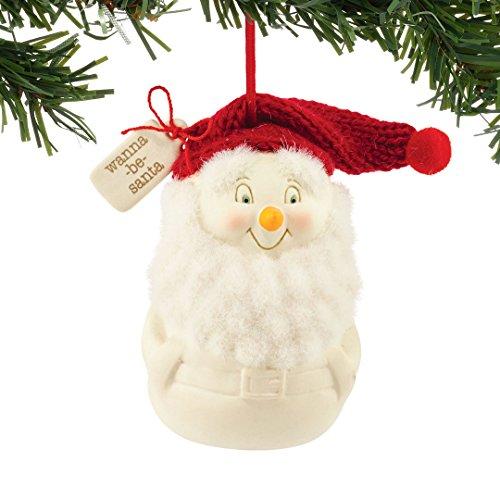 Department 56 Snowpinions Wanna-Be Santa Ornament 3″